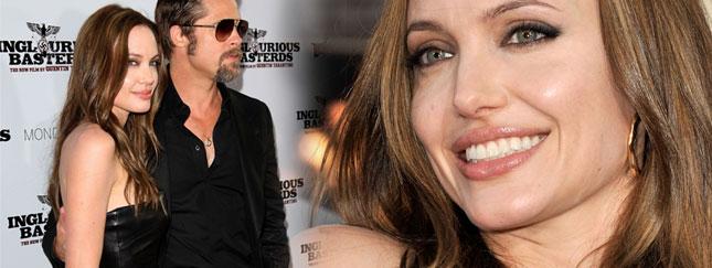 Chudziutka Angelina Jolie w czarnej skórze (FOTO)