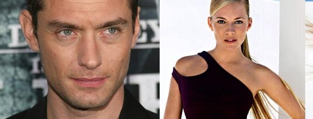 Jude Law i Sienna Miller już nie kryją romansu