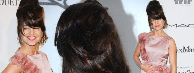 Mena Suvari i jej gniazdo na głowie (FOTO)