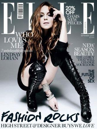 Lindsay Lohan ma zakaz pozowania dla brytyjskiego Elle