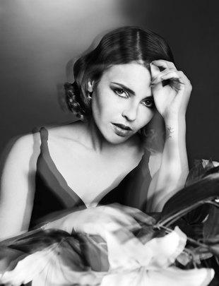 Edyta Herbuś w stylizacjach dawnych aktorek (FOTO)