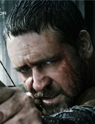 Russell Crowe w roli Robina Hooda [VIDEO]