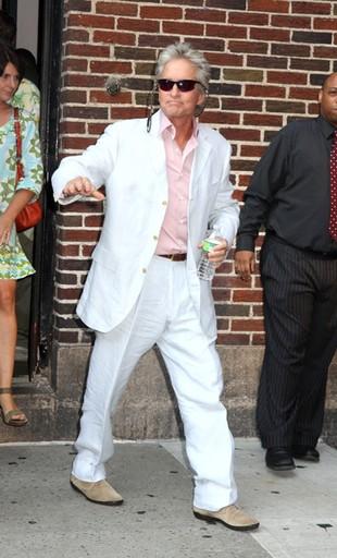 Michael Douglas nie wygląda na chorego na raka (FOTO)