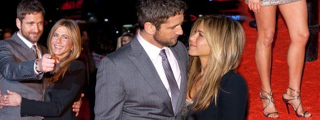 Aniston i Butler razem na czerwonym dywanie
