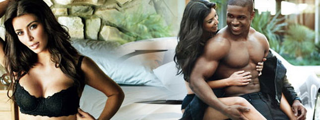 Kim Kardashian i Reggie Bush dla GQ (FOTO)
