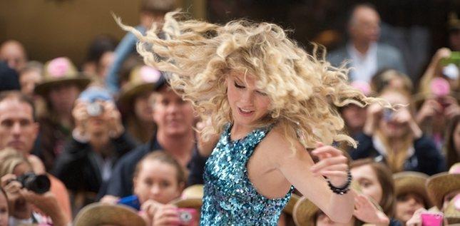 Taylor Swift w swoim żywiole (FOTO)