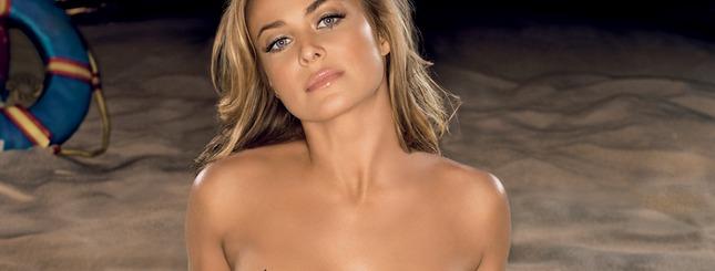 Naga Carmen Electra w polskim Playboyu (FOTO)