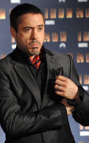 Robert Downey Jr. z synem