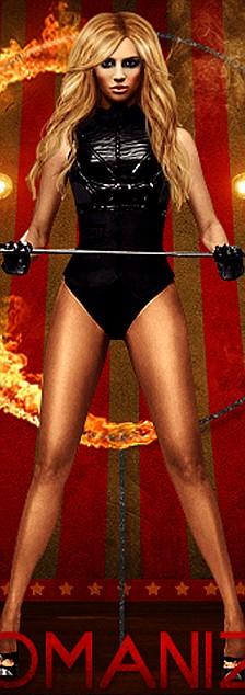 Briney Spears na promocyjnym zdjęciu  Womanizer
