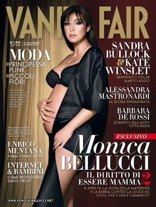 Monica Bellucci nago na okładce Vanity Fair (FOTO)