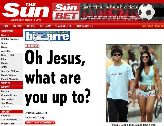 Jesus Luz bawi się bez Madonny