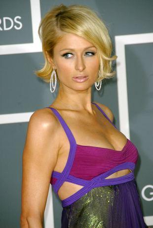 Paris Hilton jako brunetka