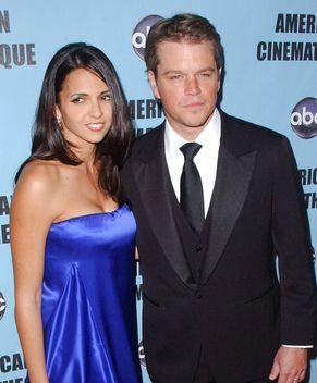Matt Damon z ukochaną na czerwonym dywanie (FOTO)
