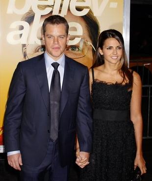 Matt Damon jest zbyt nudny dla paparazzi