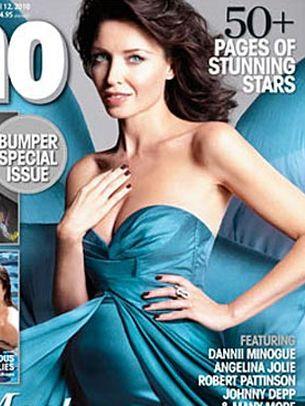 Ciążowy brzuszek Dannii Minogue (FOTO)