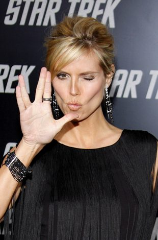 U Heidi Klum już widać brzuszek