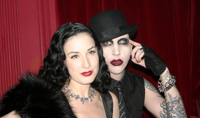 Marilyn Manson chce wrócić do Dity Von Teese