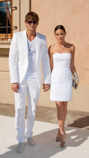 Demi Moore i Ashton Kutcher nie są małżeństwem?