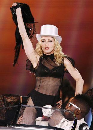 Madonna z Britney Spears i Justinem Timberlakem