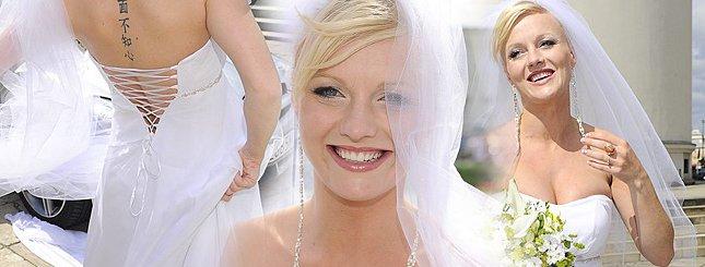 Ciężarna Marta Szulawiak została żoną (FOTO)