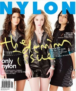 Vanessa, Ashley i Portia na okładce Nylon (FOTO)
