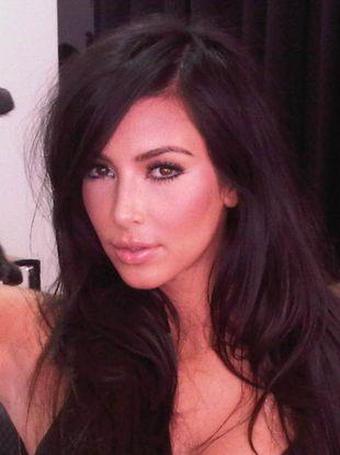 Kim Kardashian i jej czarna kicia (FOTO)