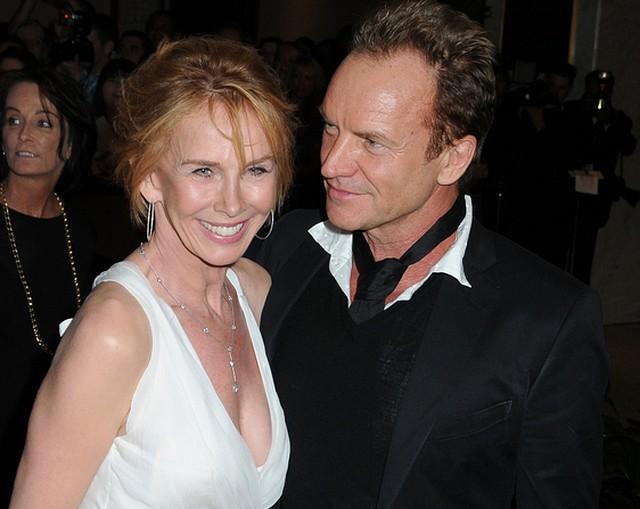 Sting & Trudie Styler: Lubimy tandetę w sypialni