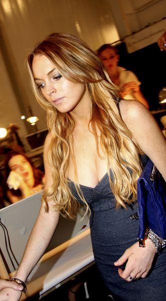 Lindsay Lohan znowu się tnie