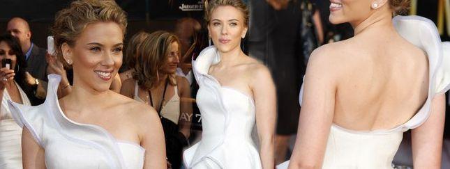Scarlett Johansson podczas premiery Iron Man 2 (FOTO)