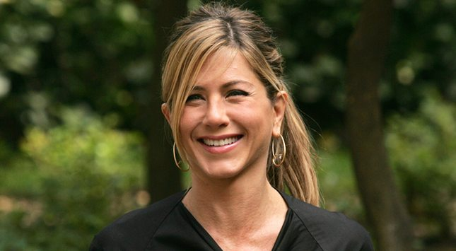 Złota Jennifer Aniston