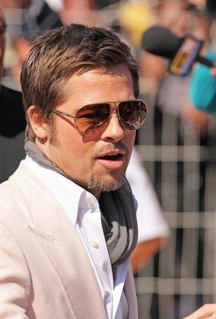 Brad Pitt nie chce, żeby go dotykali