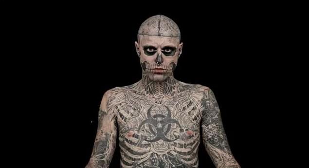 Zombie Boy bez tatuaży? (VIDEO)