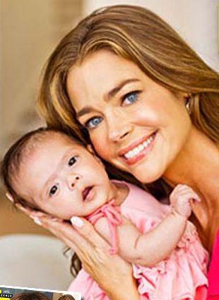 Denise Richards pokazała adoptowaną córeczkę (FOTO)