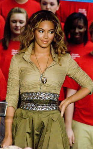 Beyonce bierze lekcje baletu