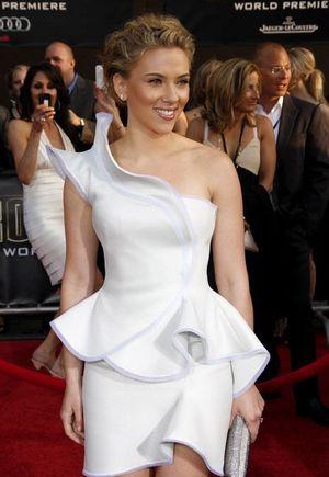 Mama Scarlett Johansson zaadoptowała małą dziewczynkę