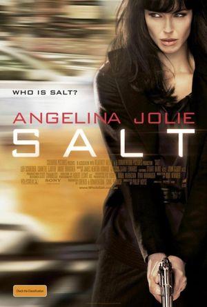 Angelina Jolie- kolejny plakat promujący film Salt (FOTO)