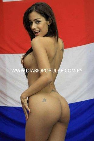 Larissa Riquelme nago dla drużyny Paragwaju