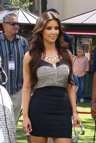 Kim Kardashian na planie filmowym (FOTO)