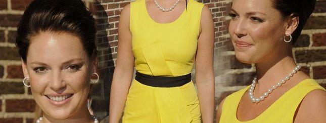 Katherine Heigl niczym kanarek (FOTO)