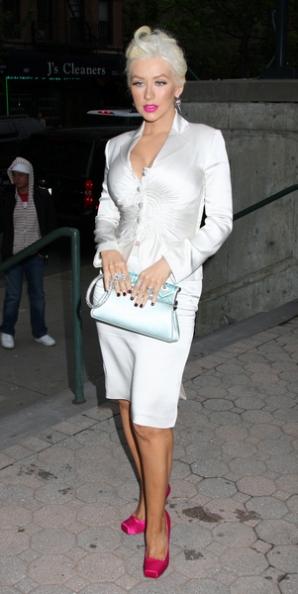 Christina Aguilera znów szalała na koncercie