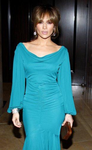 Jennifer Lopez z ciążowym brzuszkiem