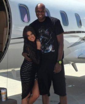 Khloe Kardashian i Lamar Odom wygrzewają ciała w Meksyku