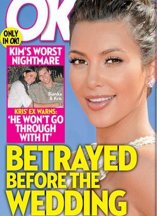 Kim Kardashian zdradzona przed ślubem?