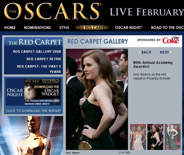Oscarowe kreacje: Cruz, Swank, Klum i Kidman
