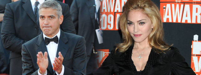 Madonna + George Clooney = katastrofa