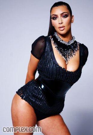 Kim Kardashian bez retuszu (FOTO)