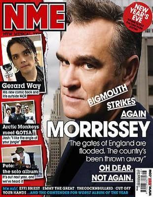 Morrissey: Chińczycy to podgatunek!