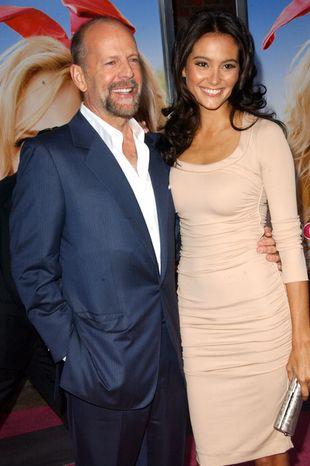 Bruce Willis przeprowadzał casting na żonę!