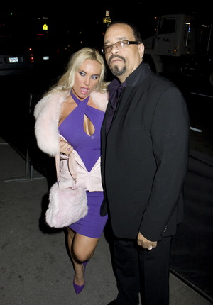 Coco i Ice-T w Halloween