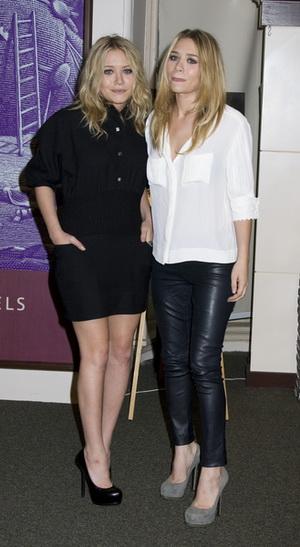 Mary-Kate i Ashley Olsen prawie nago